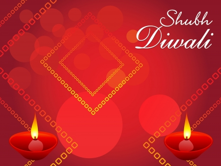 festival occasion: abstract Diwali background  Illustration