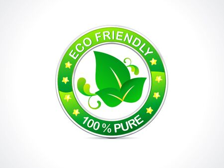 abstract eco friendly icon  Stock Vector - 15333672