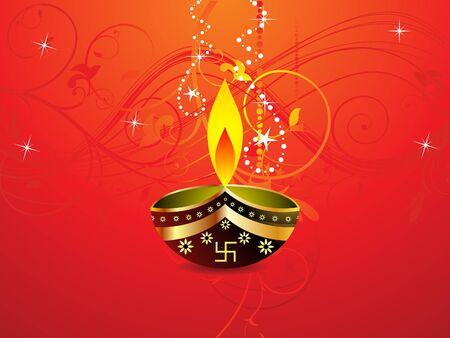 deepawali backdrop: abstract diwali background template