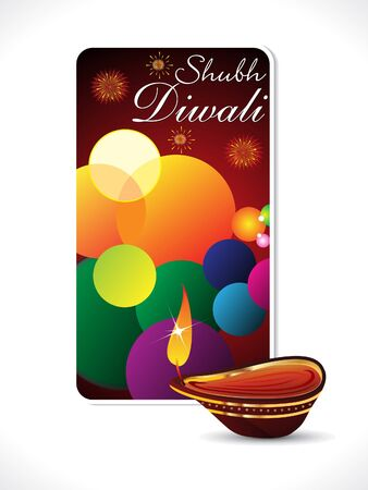 abstract diwali background template Stock Vector - 15824694