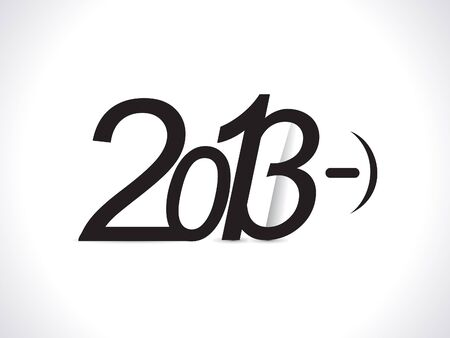 blak and white: abstract new year wallpaper vector illustration
