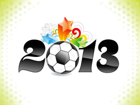 abstract new year concept vector illlustration Vector