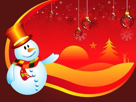 Noël abstrait illustration vectorielle fond d'écran