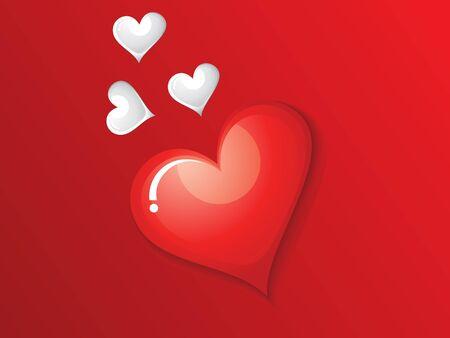 abstract valentine wallpaper  Vector