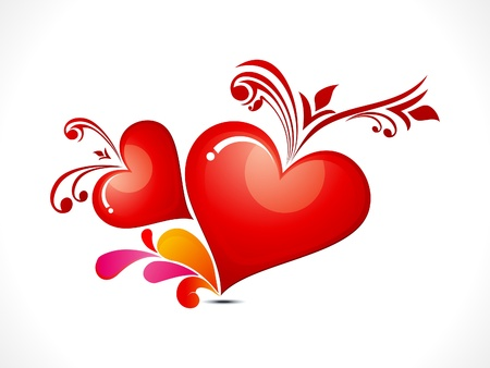heart clipart: abstract creative heart