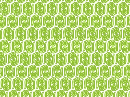 abstract green pattern illustration Stock Vector - 17878470