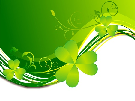 patric background: abstract st patrick background  Illustration