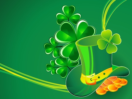st patric: abstract st patrick background