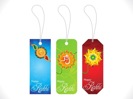 bahan: abstract multiple behindhand sale tags background illustration