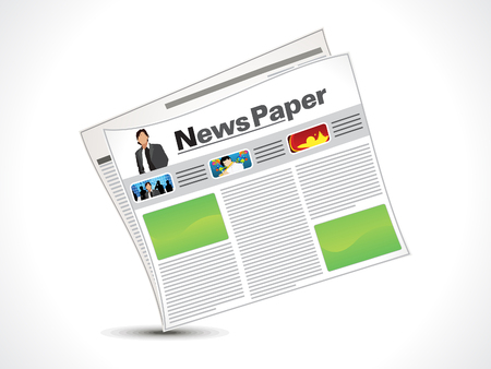 abstract news icon vector illustration Stock Vector - 24748980