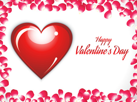 abstract valentine background vector illustration Vector
