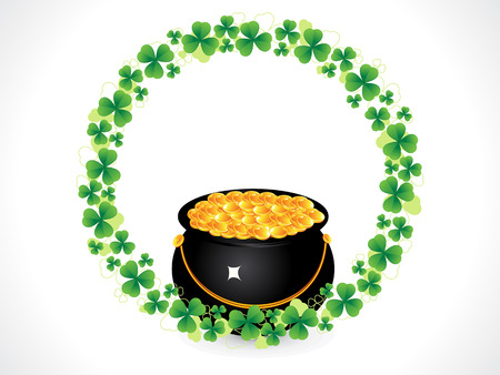 patric: abstract st patrick day background illustration