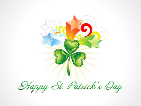 patric: abstract st patrick background vector illustration