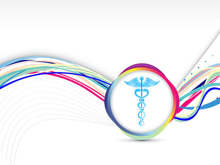 vector medical: abstract colorful medical background vector illustration