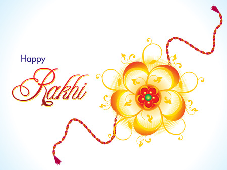 raksha: abstract raksha bandhan background illustration Illustration
