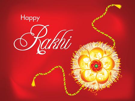 bahan: abstract raksha bandhan background illustration Illustration