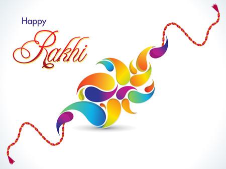 raksha: abstract Raksha Bandhan illustrazione sfondo