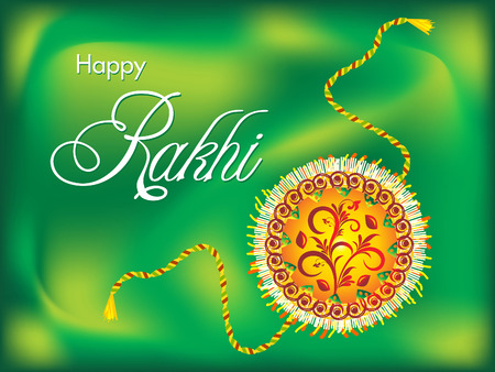 rakshabandhan: abstract artistic rakshabandhan background vector illustration