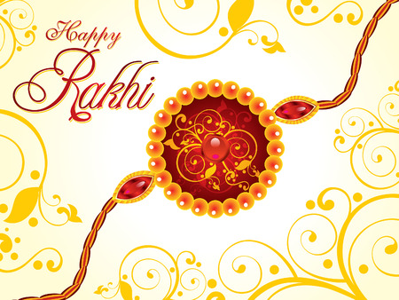 bahan: abstract artistic raksha bandhan background vector illustration