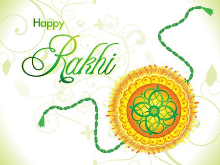 raksha: abstract artistic raksha bandhan background vector illustration