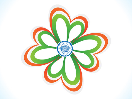 abstract indian republic day background vector illustration