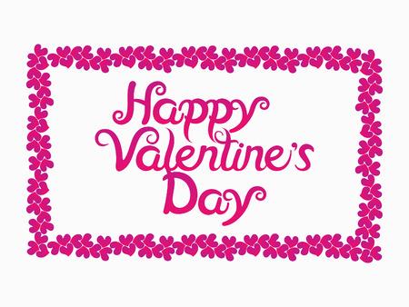 abstract artistic valentine day background illustration Illustration