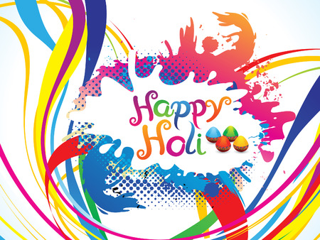 thali: abstract artistic colorful holiday explode illustration