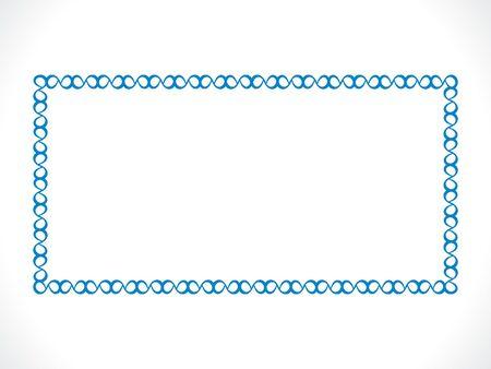 Resumen ilustración borde azul artístico Foto de archivo - 54600445