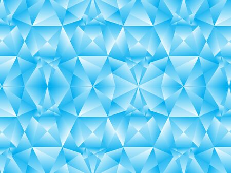blue abstract: abstract blue crystal background illustration