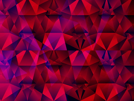 abstract artistic crystal background illustration