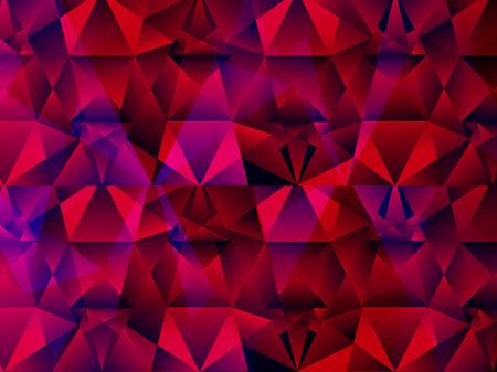 Resumen de antecedentes ilustración artística de cristal Foto de archivo - 56086646