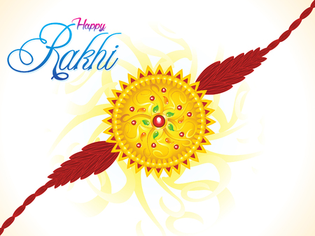 bahan: abstract artistic raksha bandhan illustration Illustration