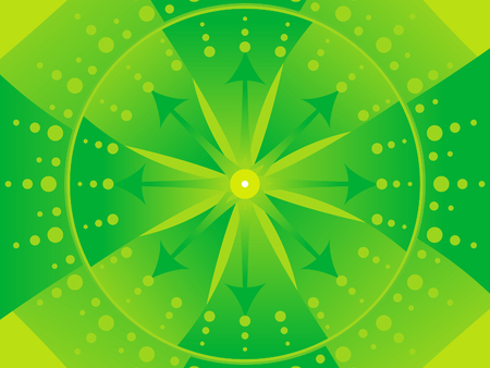 abstract green: abstract artistic green background vector illustration