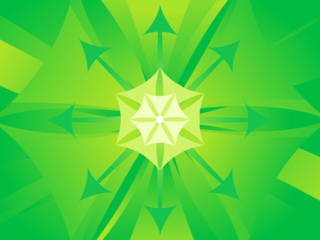 titled: abstract artistic green titled background vector illustration