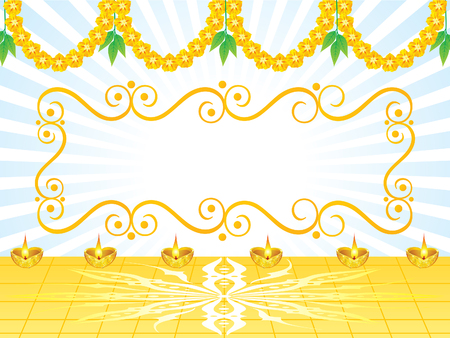 abstract artistic celebration background vector illustration Illustration