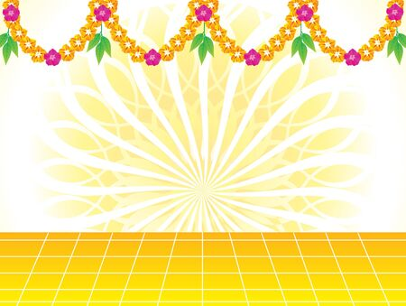 Abstract artistic creative celebration background vector illustration