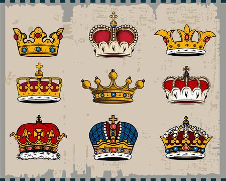 aureole: Crowns