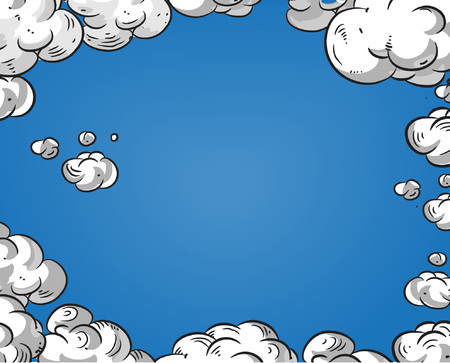 Cartoon niebo