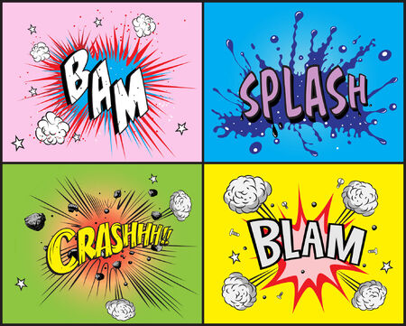 Comic book explosion Stock Vector - 6119254