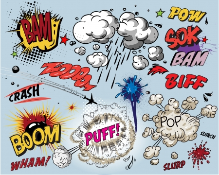 slurry: Comic book explosion