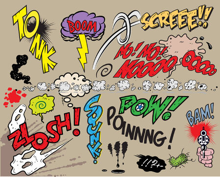Comic book explosion Stock Vector - 6119238