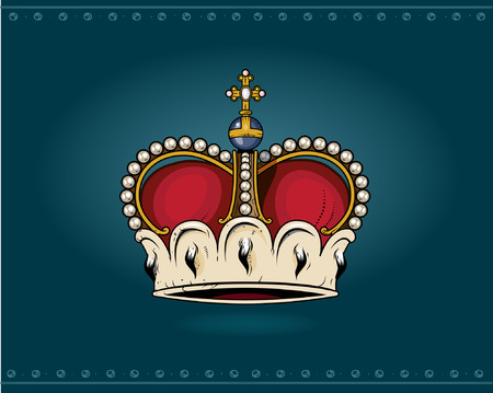 the corona: Crown Illustration