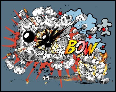 Explosion Stock Vector - 8062143