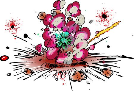 Explosion Stock Vector - 8062103