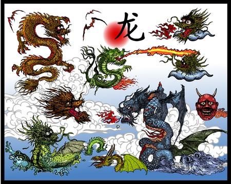 anime: Dise�o del tatuaje japon�s