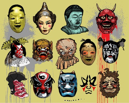 Asian masks