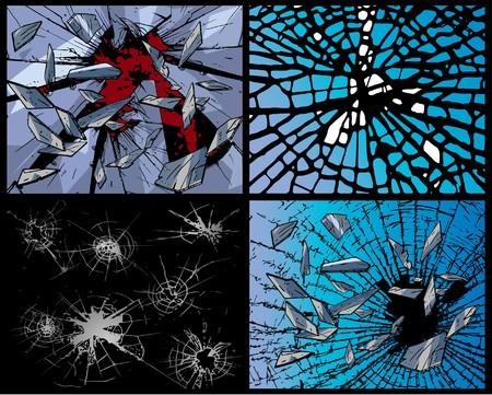 fissure: D�truire - backgrounds  Illustration
