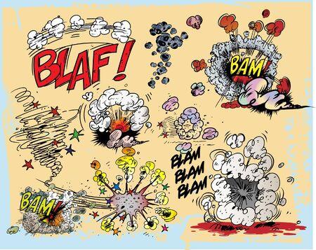 g�lle: Explosionen