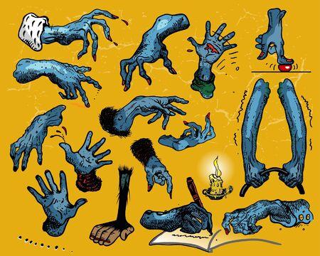 finger bones: Hands