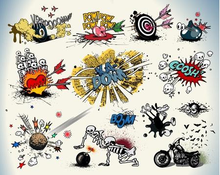 dinamita: Los elementos de diseño